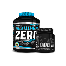 Pack Iso Whey Zero + Black Blood