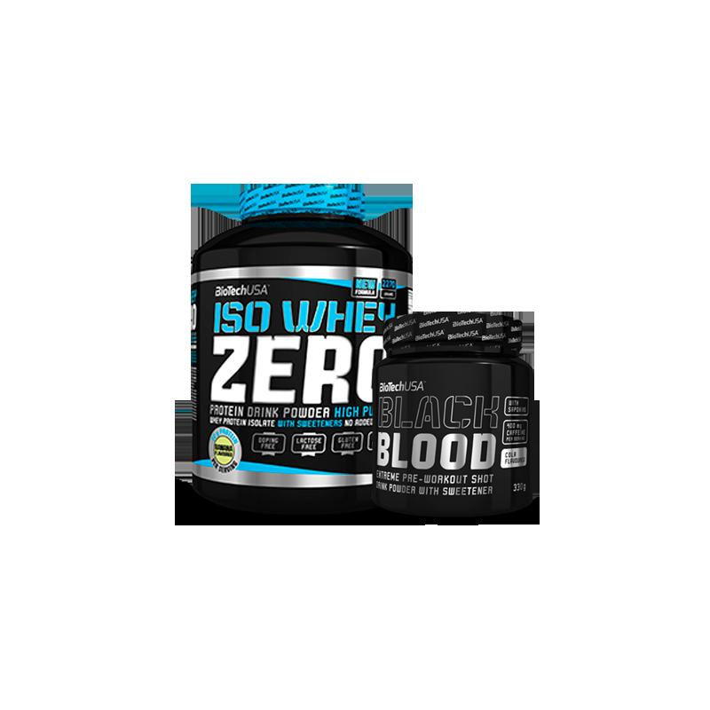 Pack Iso Whey Zero + Black Blood