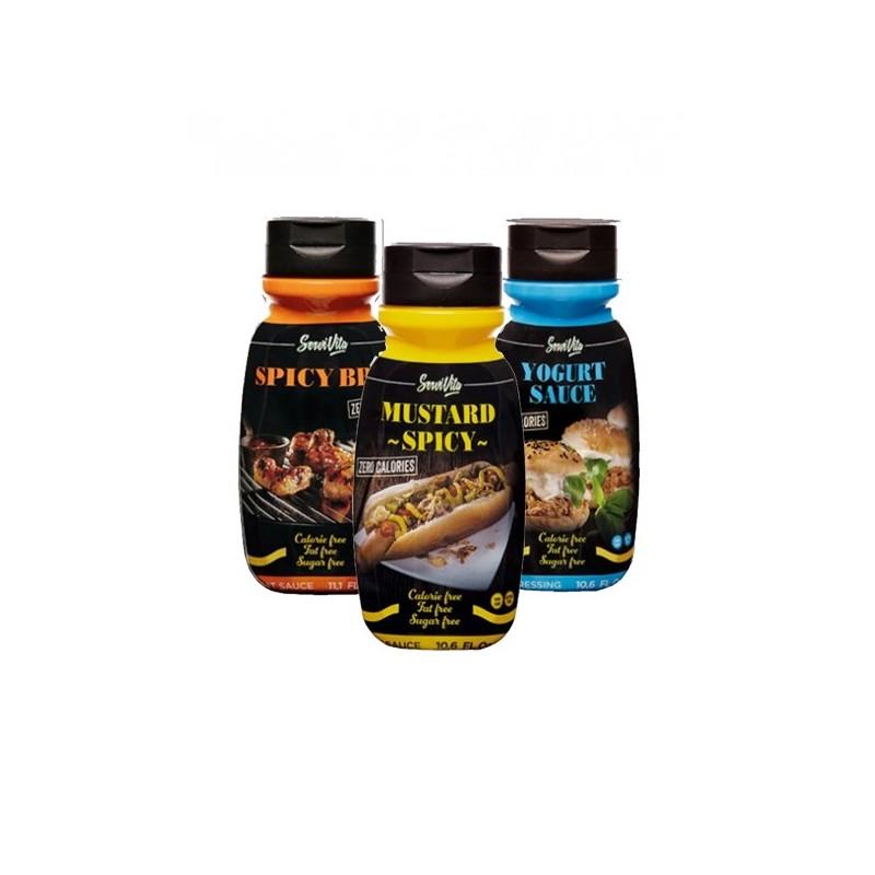 Pack 3 salsas Servivita
