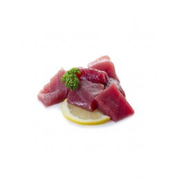 Tacos de atún especiado