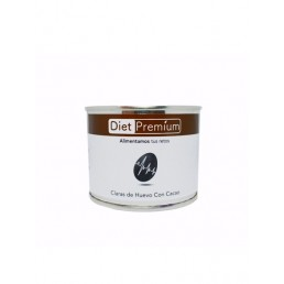 Claras de Huevo al Cacao