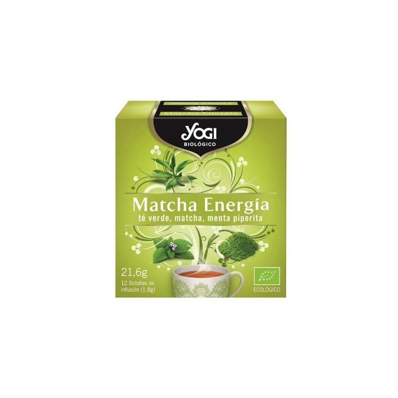 Yogi Matcha Energía