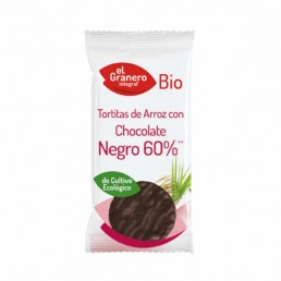 Tortitas De Arroz Con Chocolate Negro 60% Bio