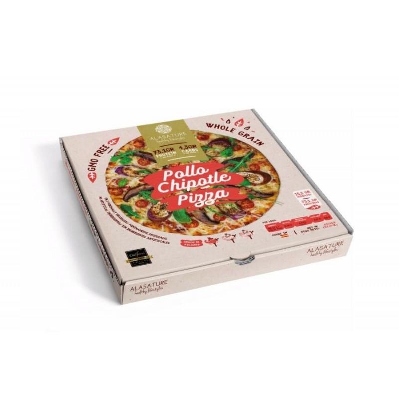 Pizza Fitness Chipotle de Pollo