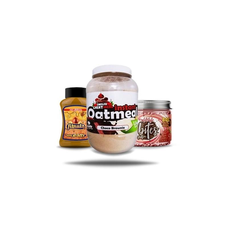 FITNUTS, Protein Bites & Emilio Cheat Meal
