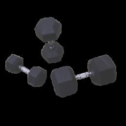 Mancuernas hexagonales (De 2 a 50 kg)
