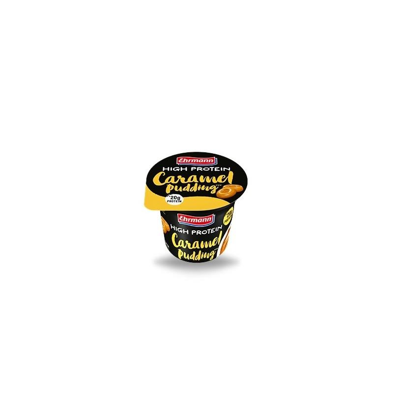 Natilla Proteica de Caramelo