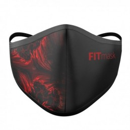 FITmask Red Fractal Adulto