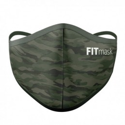 FITmask Green Camo Adulto