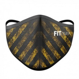 FITmask Danger Yellow Adulto