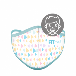FITmask Colour Triangles Kids