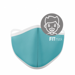 FITmask Turquoise Kids
