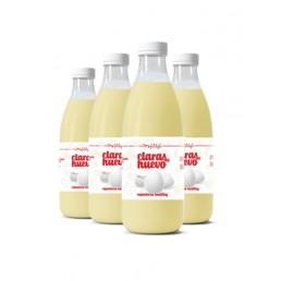 Claras de huevo sin refrigerar (x4)