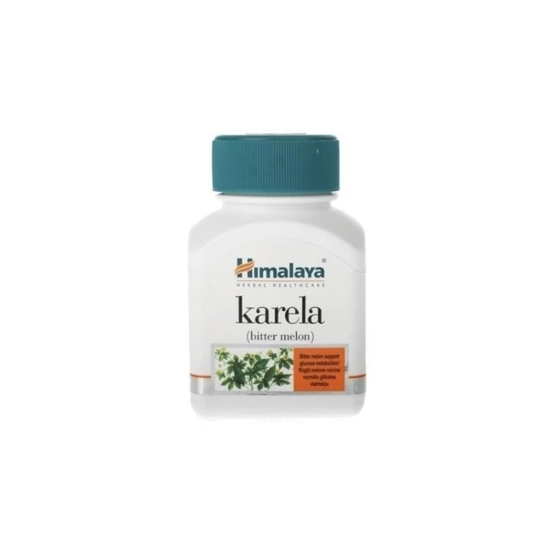 Karela Bitter Melon Gourd Wellness - 60 Caps.