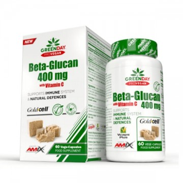 Beta-glucan 400 Mg - 60 Vcaps.