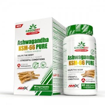 Ashwagandha Ksm-66 Pure - 60 Vcaps.