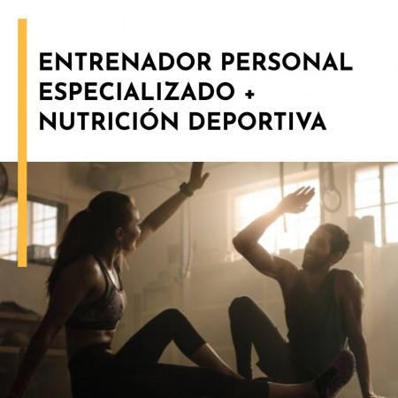 Entrenador Personal Nivel II + Nutrición deportiva