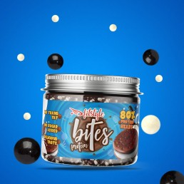 Protein Bites Black Cookies