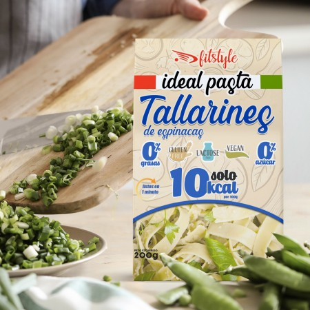 Tallarines Espinacas Ideal Pasta