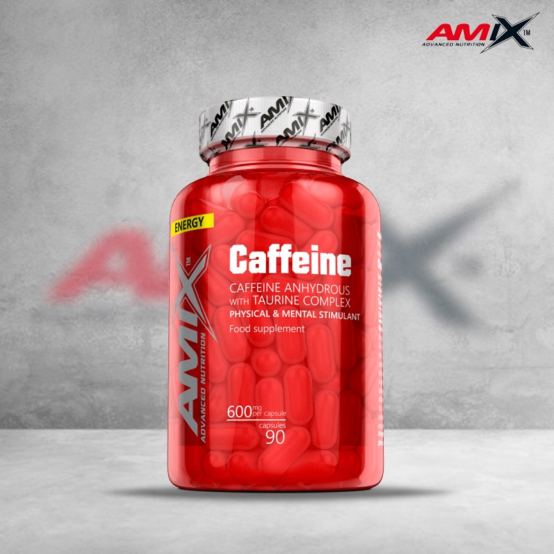 Cafeína + Taurina 90 caps Amix