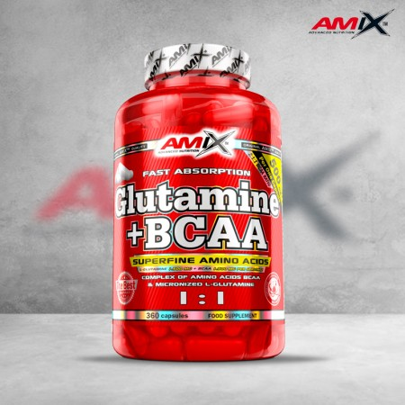 Glutamina + BCAA 360 caps