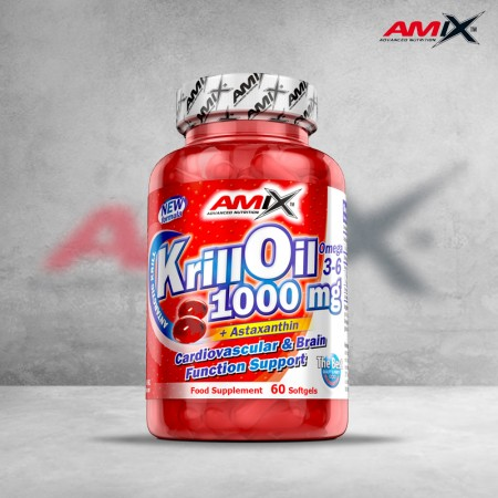 Krill Oil 1000mg 60 softgels
