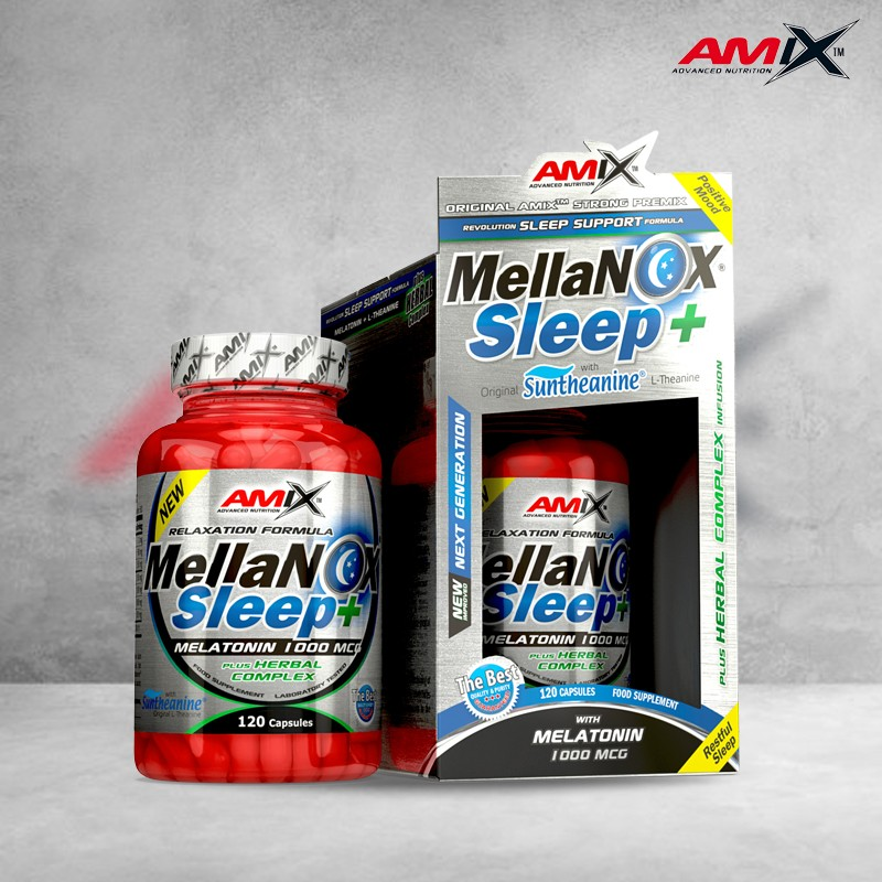 MellaNOX Sleep Plus 120 caps Amix