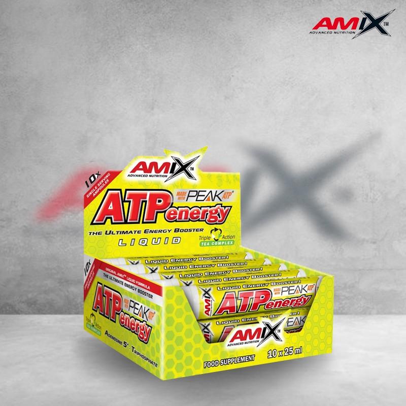 ATP Energy Liquid 10 x 25ml Amix