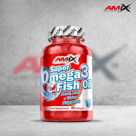Super Omega-3 Fish Oil 90...