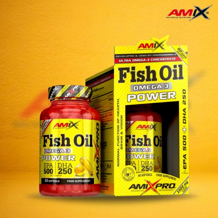 Fish Oil Omega 3 Power 60...