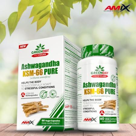 Ashwagandha Ksm-66 Pure 60...
