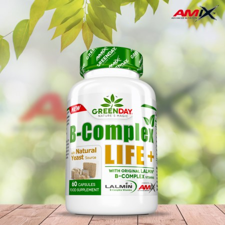 B-complex LIFE-FORTE+ 60 caps