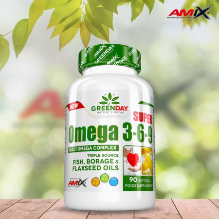 Super Omega 3-6-9 90 softgels