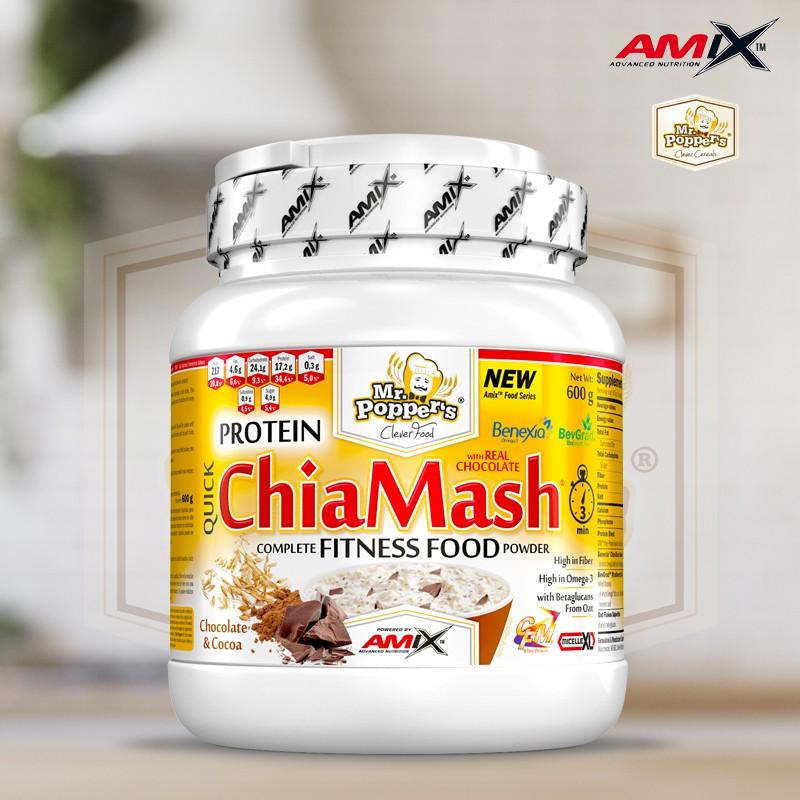 Protein ChiaMash 600g Mr Poppers