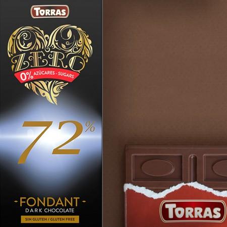 Chocolate Negro 72% 100g