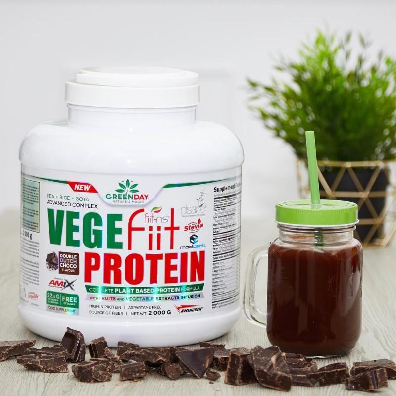 Vegefiit Protein 720g Amix GreenDay