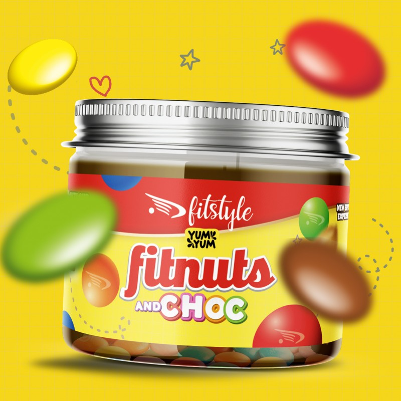 FITnuts Choc and Choc 200g FITSTYLE