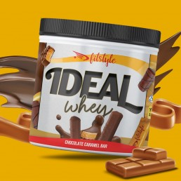 Ideal Whey Choco Caramel Bar 500g FITSTYLE