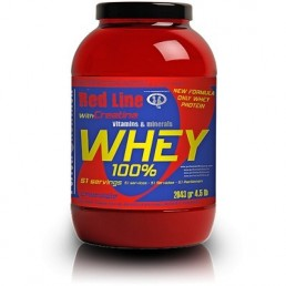 Red Line 100x100 Whey Protein