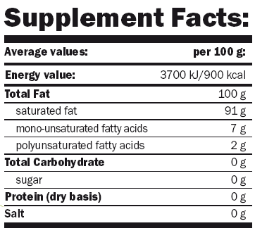 Amix Coconut Oil - Aceite de coco
